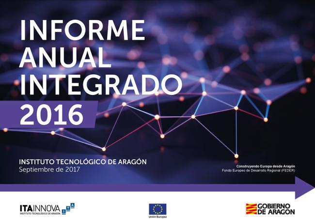 Portada de informe anual 2016