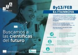 ¡Buscamos a las científicas del futuro!